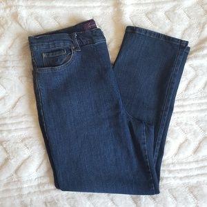 Gloria Vanderbilt Amanda Indigo straight leg jean